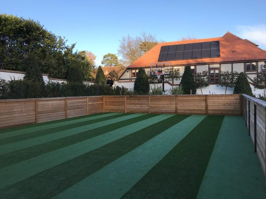 Artificial Grass green installation