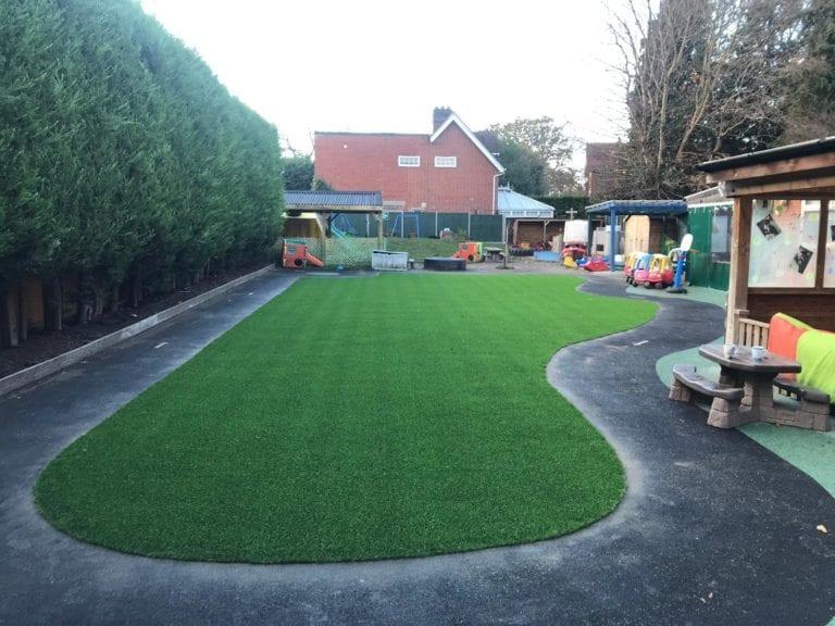 day nursery artificial grass