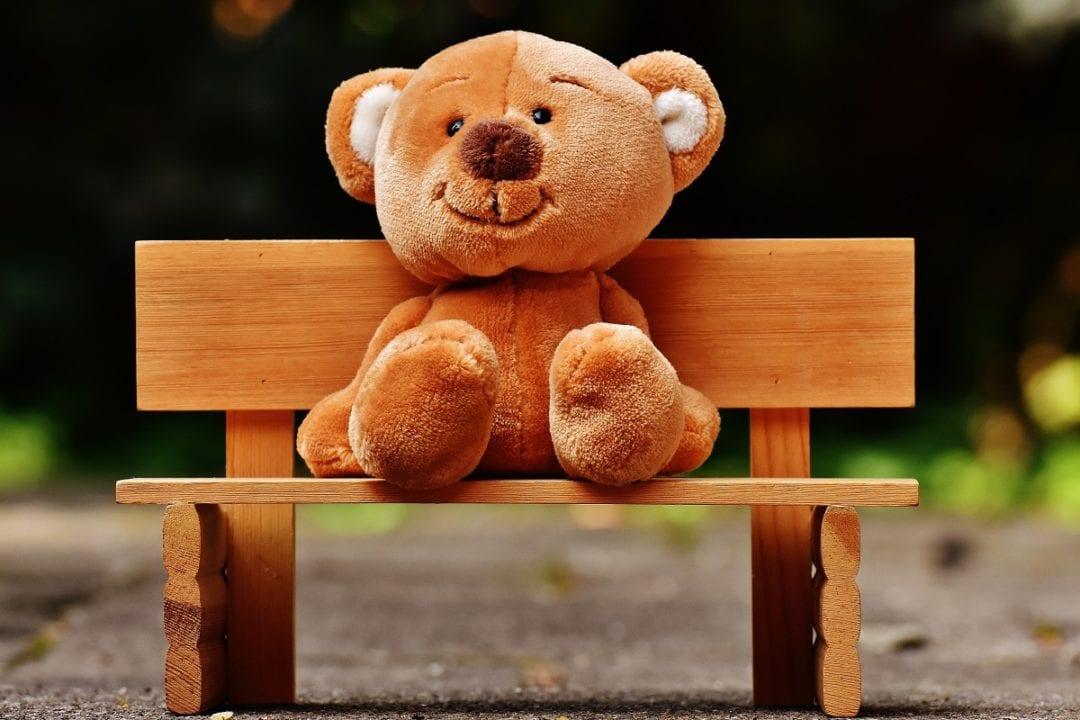 bear bench blur 207906