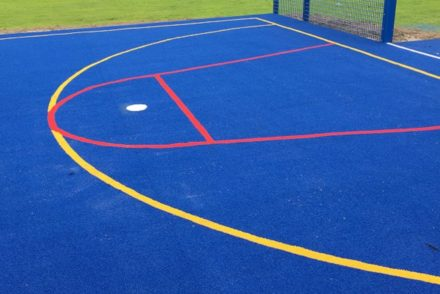 netball court trail
