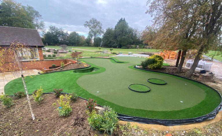 Artificial Grass Putting Greens, Putting Green In Garden Cost
