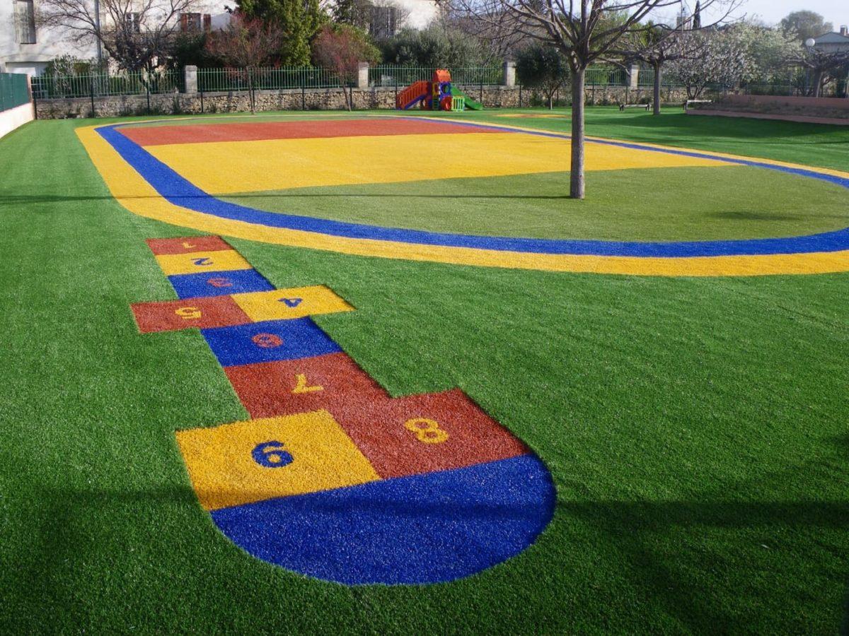 school ground artificial grass scaled