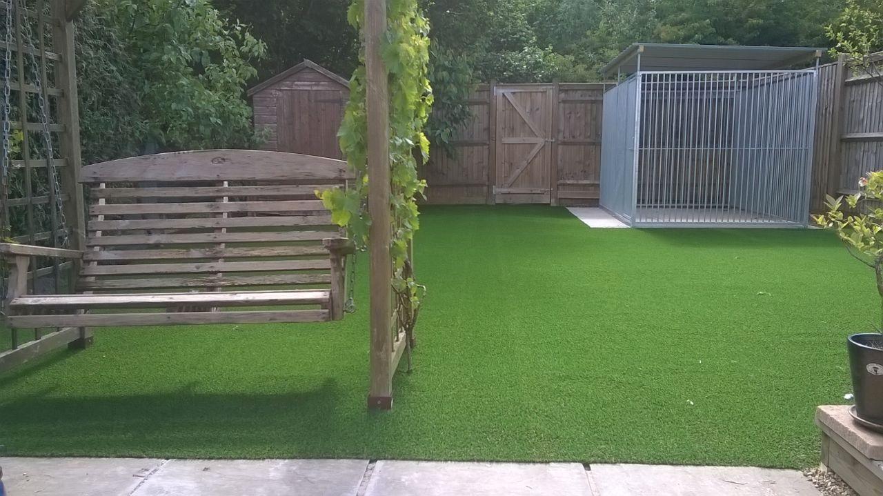 Surrey artificial grass example