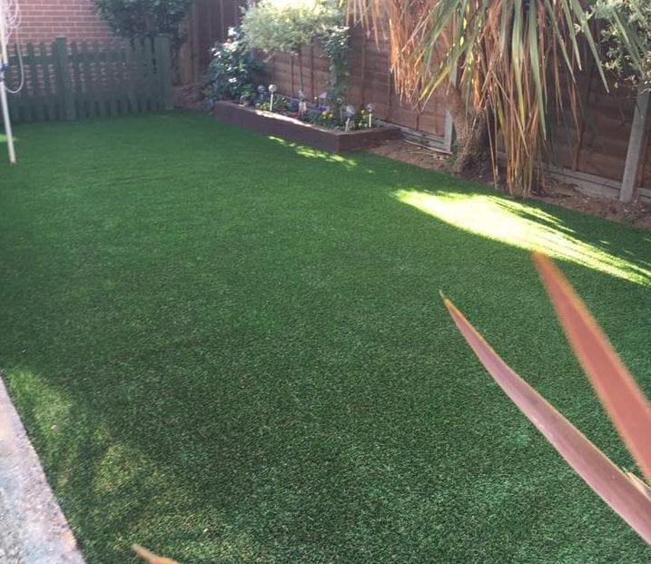 reading artificial lawn installation