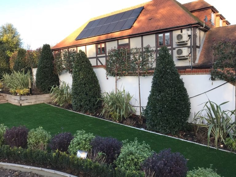 Artificial Grass green installation