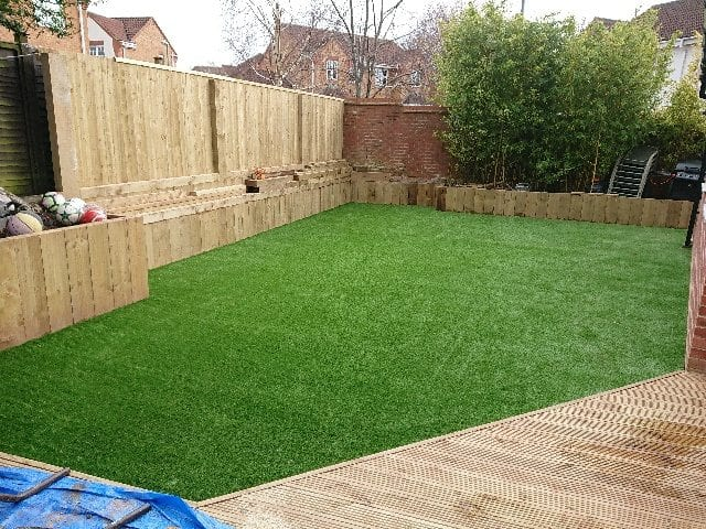 bristol artificial grass installation