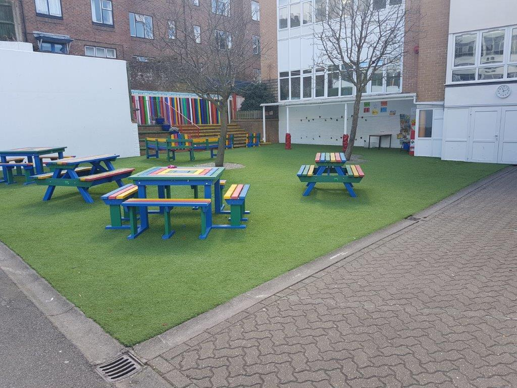school artificial grass in brighton