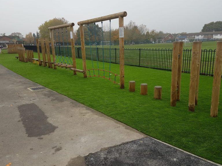muddy school grass solution