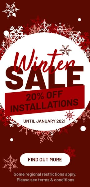 Trulawn Winter Offer - 20% off installations until January 2021