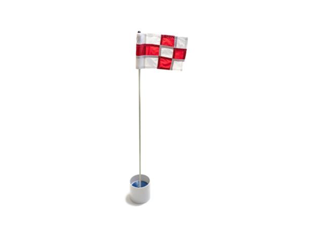 Golf Cups & Flag Set