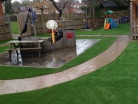 Trulawn Adventure - Artificial Grass Play Area