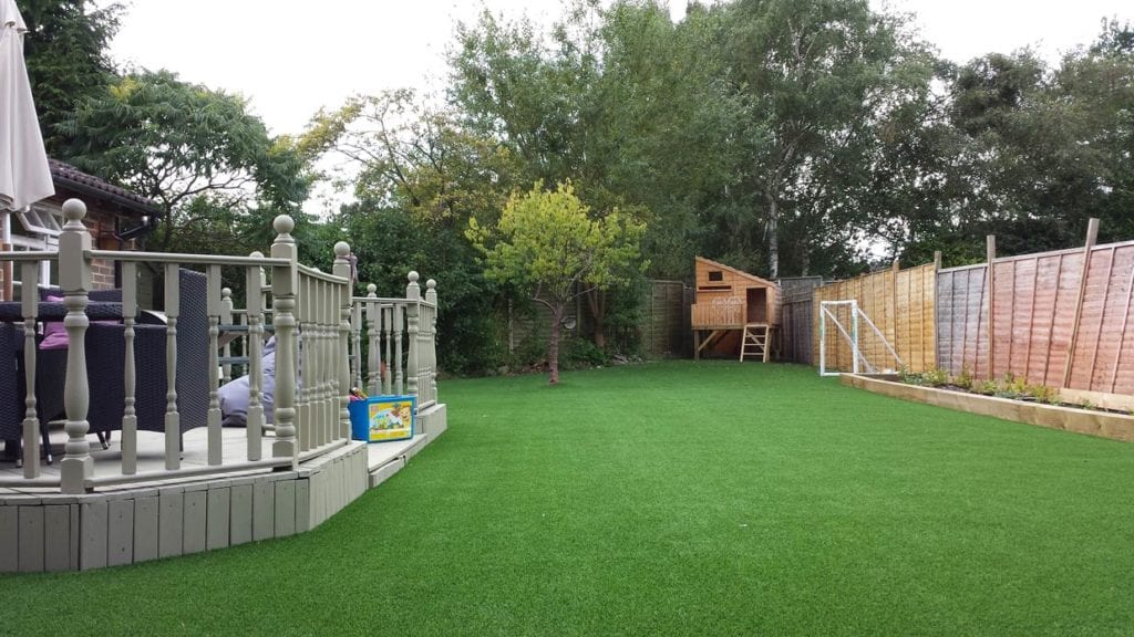 Installed Artificial Lawn
