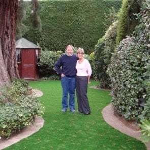 Chessington Family installs Artificial Lawn