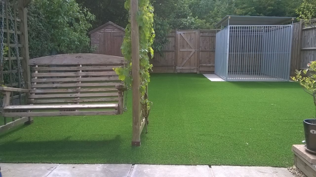 Surrey artificial grass example