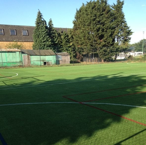 Artificial School sports field