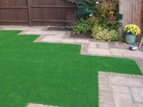 Artificial Front Garden using Trulawn Continental