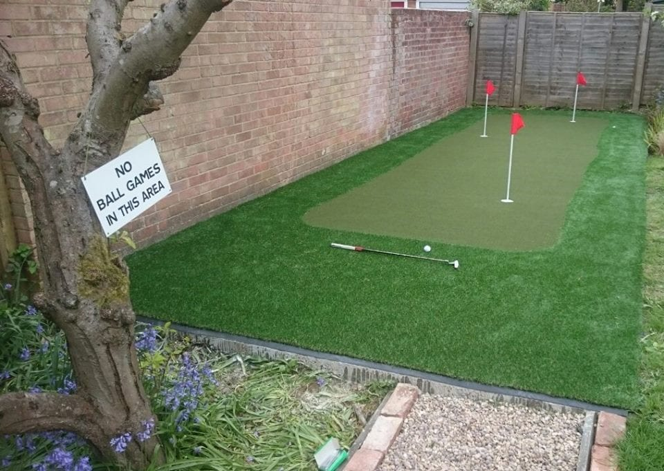 Putting Green in a Day