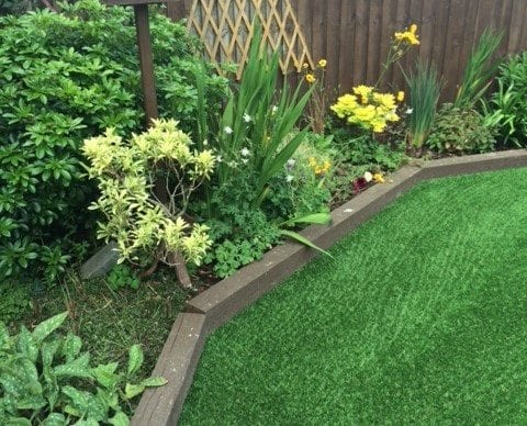 Love the Look: Artificial Grass and Flowerbeds and borders 2