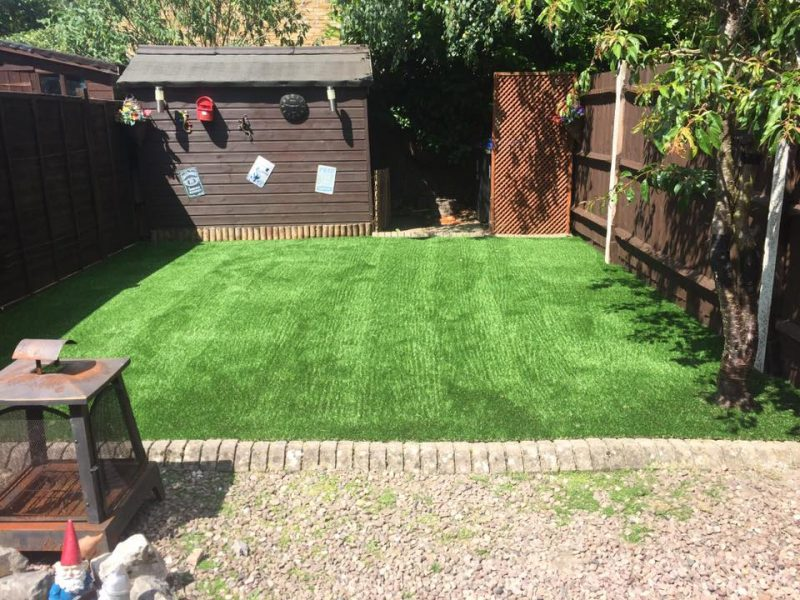 Luxury grass has the realistic look