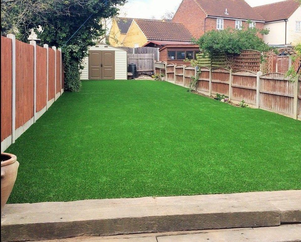 Lovely Long Lawn in Essex