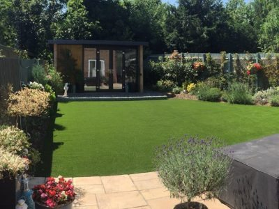 Love the Look: Artificial Grass and Garden Rooms