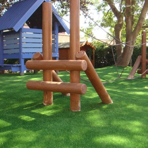 Safe Artificial Grass used in a Nursery Playground