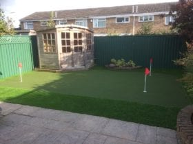 Practice your putting all year round!