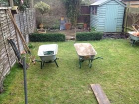Tidying up the Garden