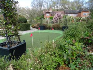 Synthetic Grass for Garden Golf