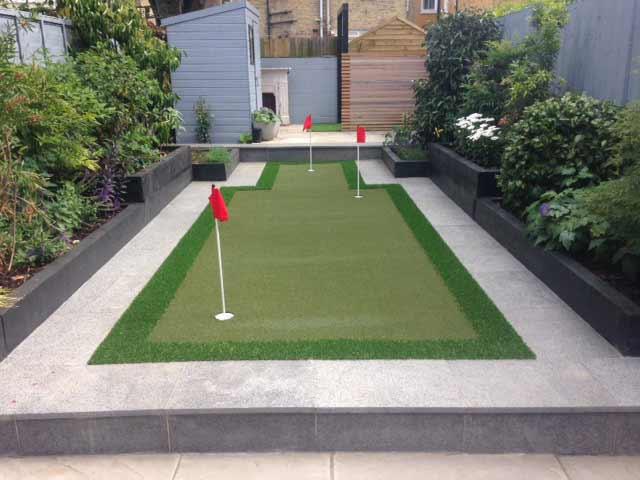 Artificial Garden Putting Green