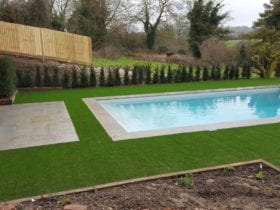 A Luxury Surrounding for this Pool in Hants