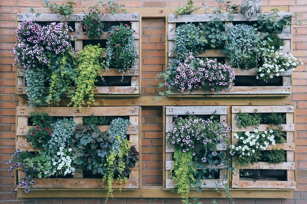 lush with plans container gardening better plantings homes vertical gardens ideas garden