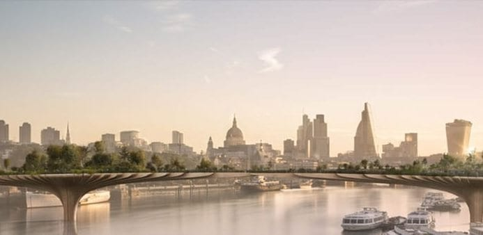 London Mayor pulls out of Garden Bridge project due to financial concerns