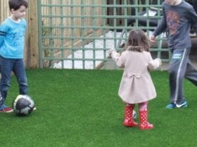 Child Safe Artificial Lawn Example