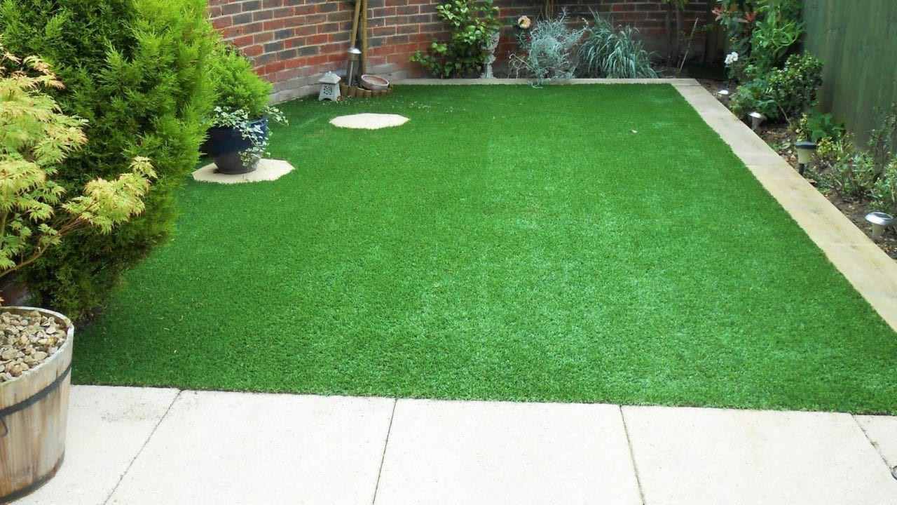 Love the Look: Artificial Grass and Patios 2 - Trulawn on Turf Patio Ideas id=96534